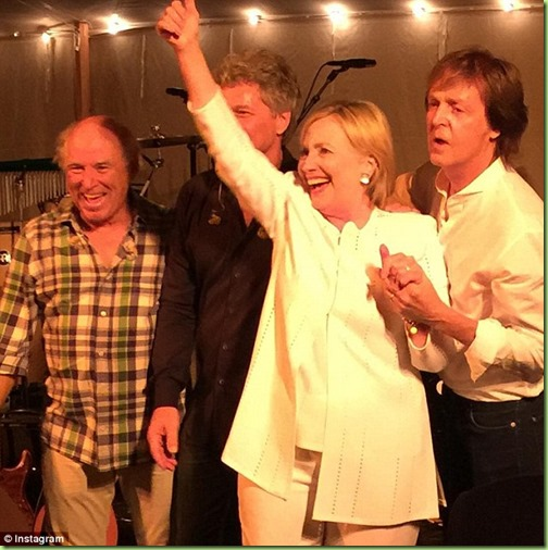 hillary paul mccartney bon jovi