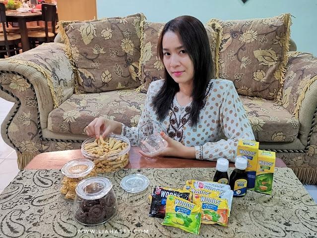 Produk WOODS dapat merawat masalah batuk dan sakit tekak