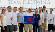J/111 Fleetwing Team- winning Verve Cup Trophy
