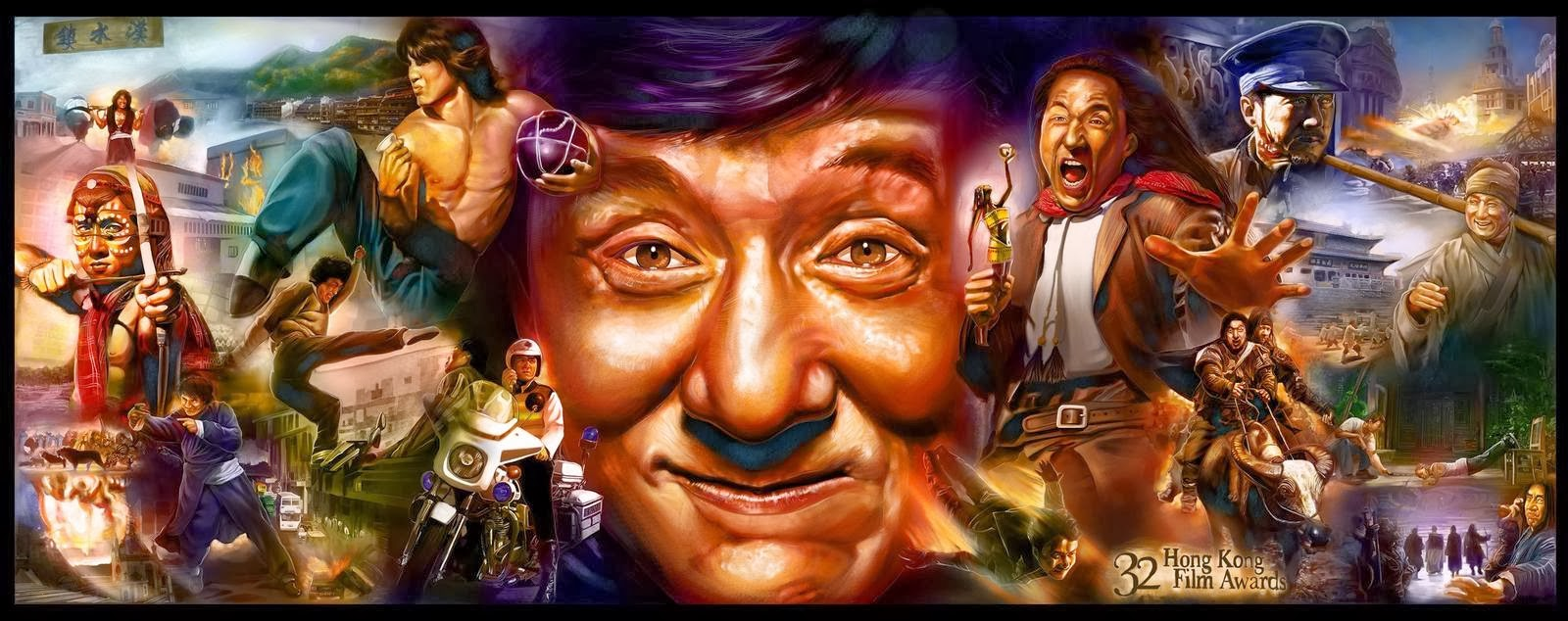 Image result for jackie chan collage