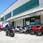 Si susseguono gli arrivi di motards, alla fine si conteranno quasi 50 presenze