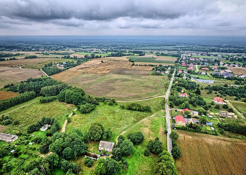 wynajem drona zdjęcia z lotu ptaka z drona gmina Osielsko w województwie kujawsko-pomorskim koło Bydgoszczy w HDRach z drona