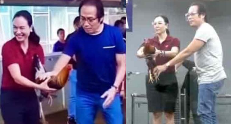 Talpak is Life! Mag kaibigang Gretchen Barretto at Atong Ang spotted sa sabungan