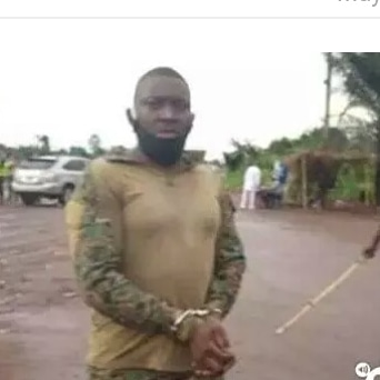 A military officer has been arrested in Alifeke