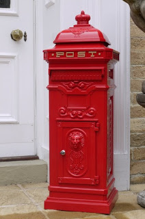 Red post box £198.00