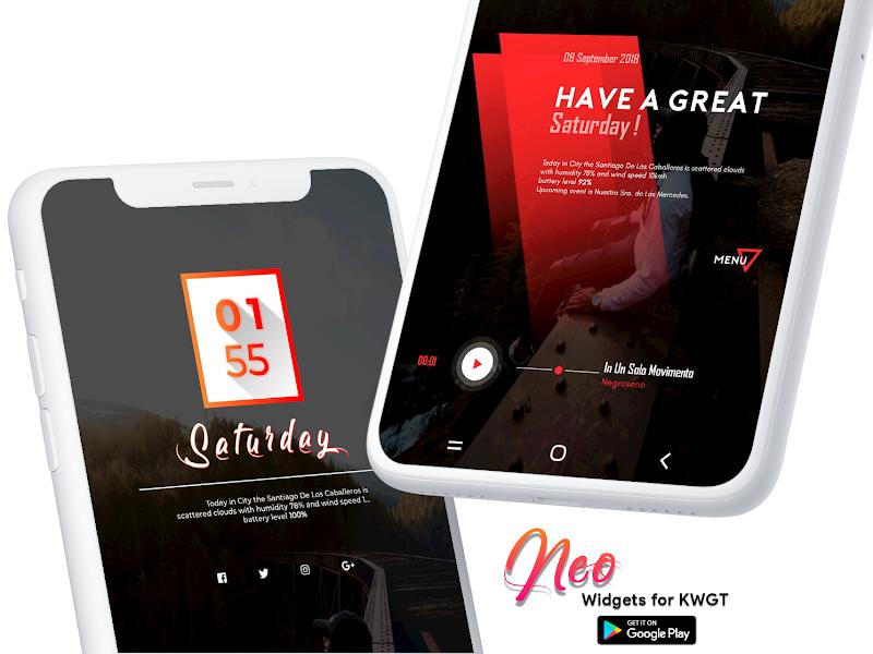 Neo Widgets for KWGT Screenshot 1