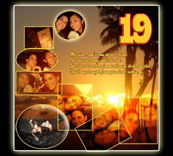Photo Collage For Brothers 19th Birthday Good Gift Ideas Bro Turned 16 17
