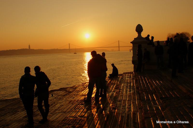 A Luz de Lisboa, Cais das colunas