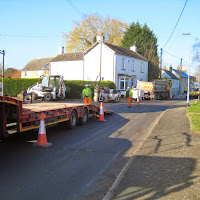 St Johns Close Resurfacing 23-03-2015. Pictures by Chris Cannon