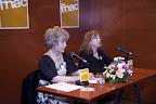 La presentación estuvo a cargo de la presidenta del Ateneo, Isabel Oliver González