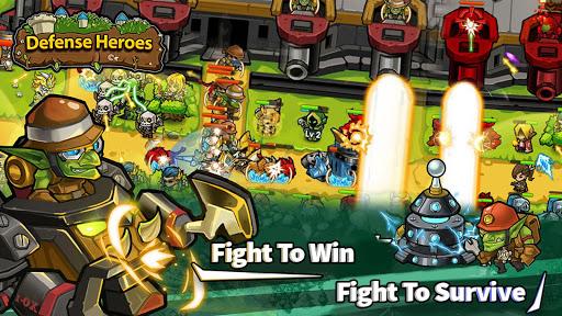 Defense Heroes: Defender War Offline Tower Defense android2mod screenshots 6