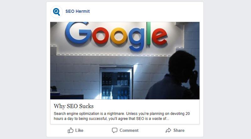 Clickbait headlines on social media