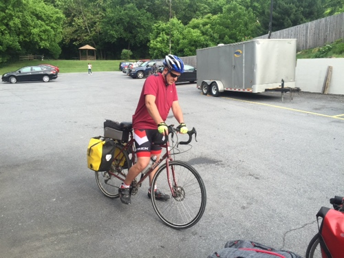 Century Cycles Blog: DC to Pgh Bike Tour Day 3 - Harpers