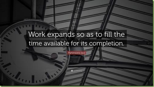 work expanding