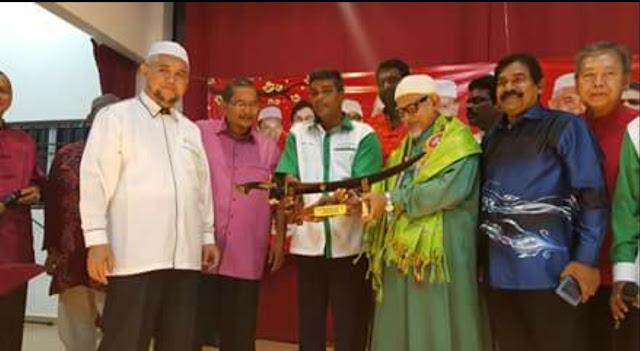 Program Presiden PAS di Bukit Gantang anjuran Lajnah Perpaduan Nasional PAS Perak bersama Dewan Himpunan  Penyokong PAS dan PAS Bukit Gantang