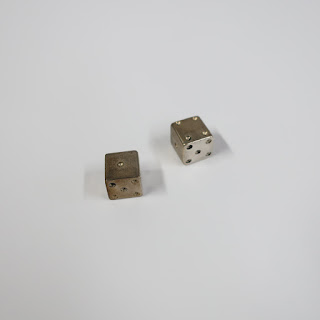 Sterling Silver Dice