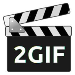 Crear un gif animado de un vídeo - logo