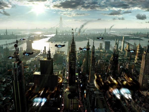 Great City Of Future, Fiction 2