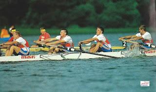 1993-La saison de l'équipe de France d'aviron