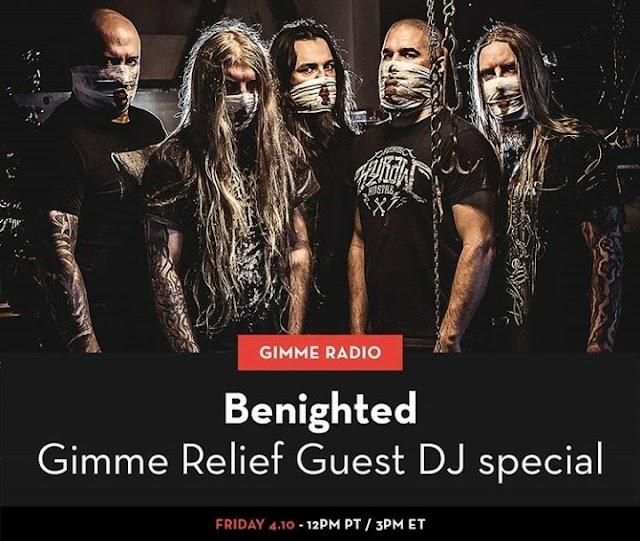 Benighted e Teloch (guitarrista dos Mayhem) vão estar na Gimme Radio