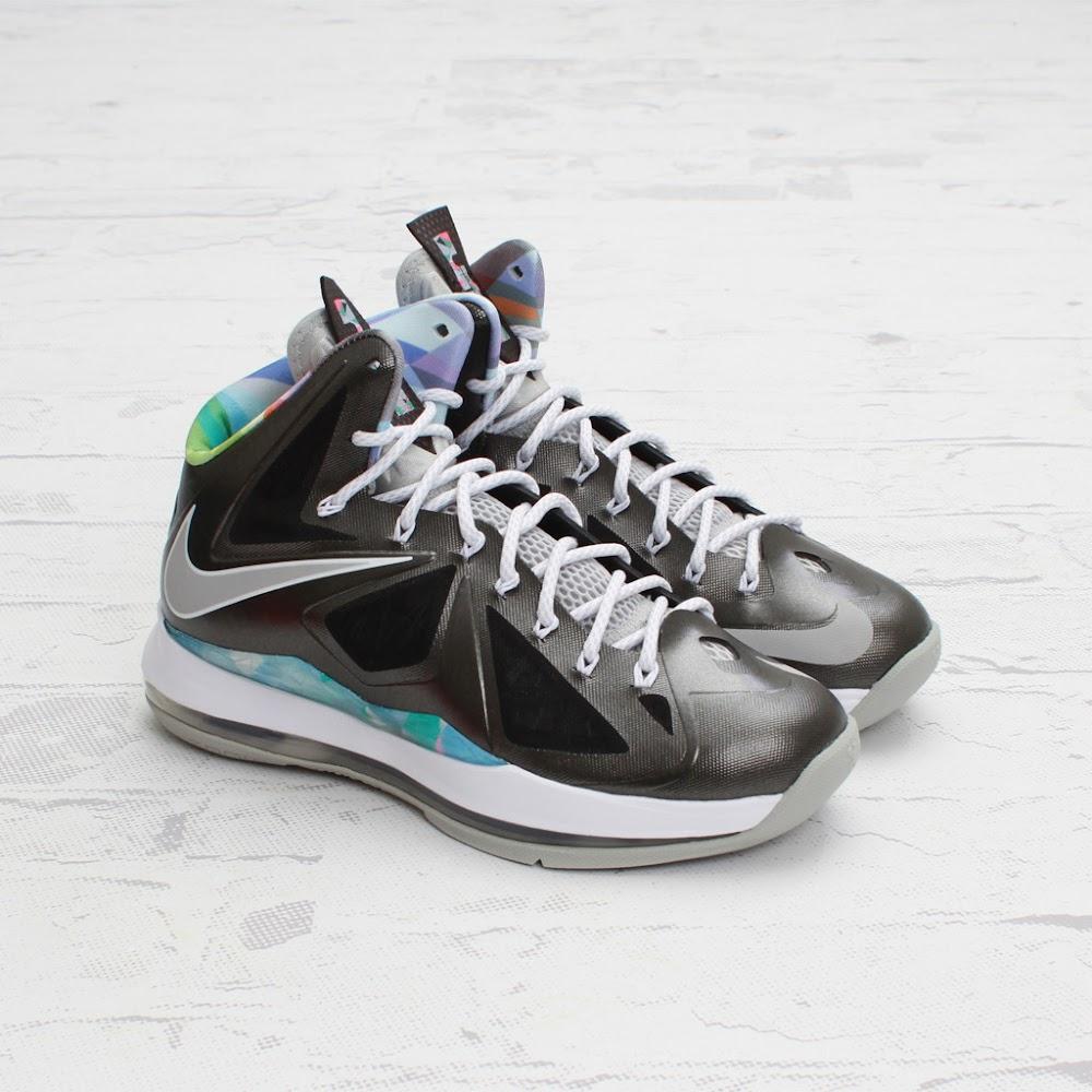 On to the next one… Nike LeBron X Prism – New Photos ...