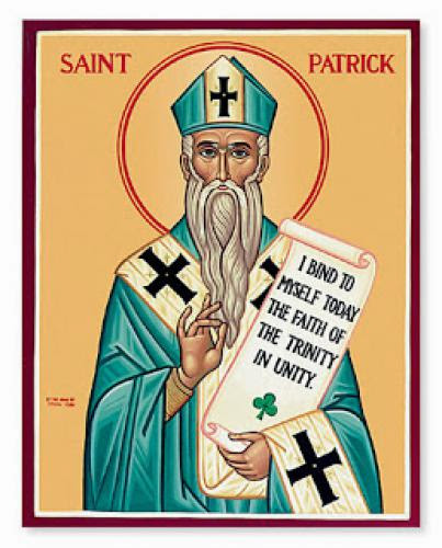 St Patrick March 17Th