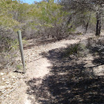 Post marker on track (104341)