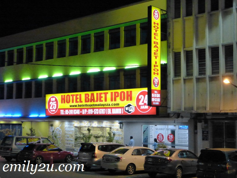 new budget hotel Ipoh