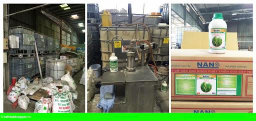 Hình 1: Vạch trần thủ đoạn làm phân bón giả của Công ty Thuận Phong
