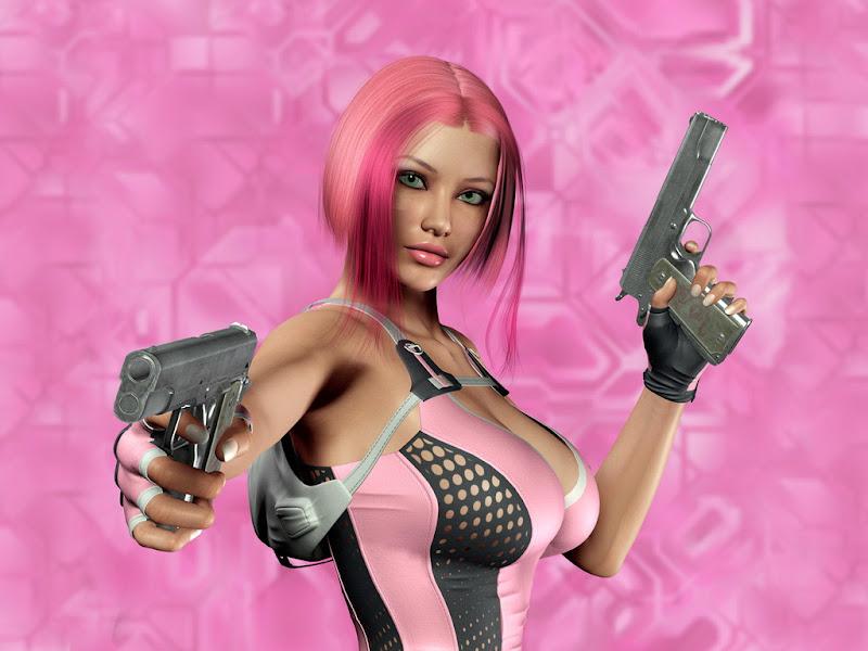 Pink Pistols Girl, Warriors