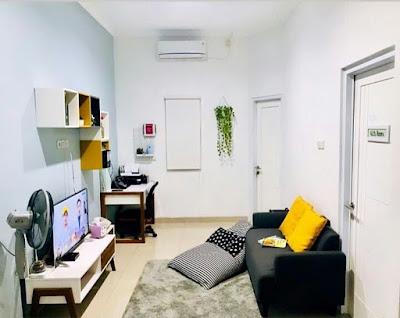 Desain Ruang Keluarga Simpel Sederhana