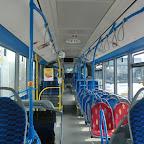 het interieur van de Mercedes Citaro van GVB bus 370