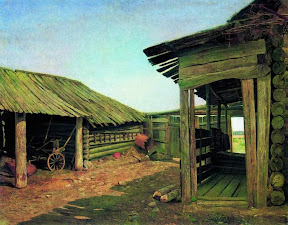 Деревенский двор.Конец 1870-х.jpg