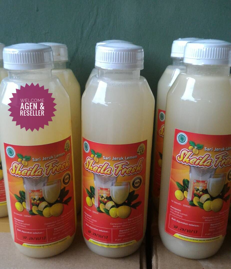 Sari Lemon Sheila Fresh Indonesia