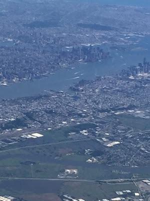 Manhattan Ariel Veiw