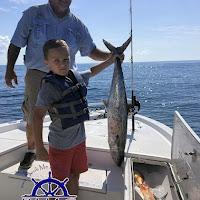 Barrac with a King Mackerel 06-25-2018