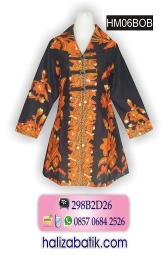HM06BOB Model Batik, Jual Batik, Contoh Baju Batik, HM06BOB