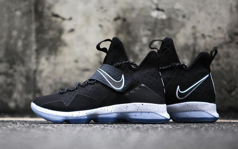 96499f28003 Get Up Close and Personal With Nike LeBron 14 Black Ice (921084-002 ...