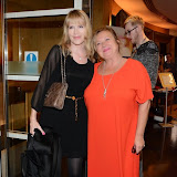 WWW.ENTSIMAGES.COM -  Dr Pam Spurr and Nicola  Duffet     arriving   at         Wear it for Autism - charity catwalk show at Millennium Hotel London Knightsbridge, London October 6th 2014Charity fashion show to celebrate families and individuals affected by autism.                                               Photo Mobis Photos/OIC 0203 174 1069