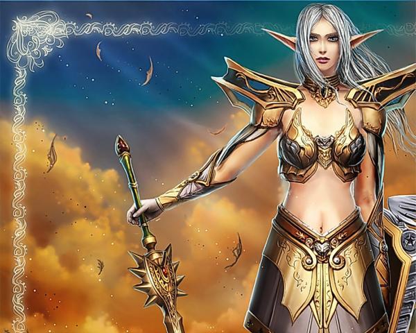 Heaven Of Cool Wizard, Elven Girls 2