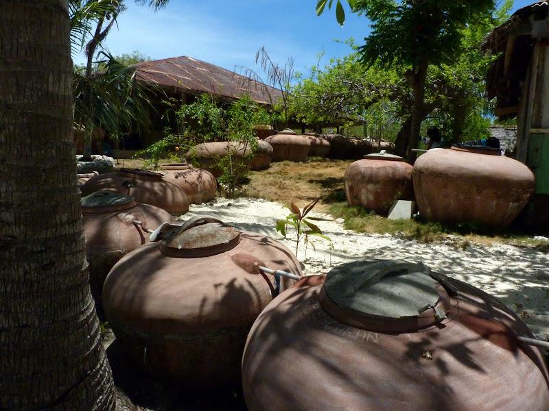 Virgin island, réserves d eau