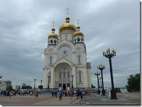 khabarovsk Spaso Preobrazhenskiy sobor