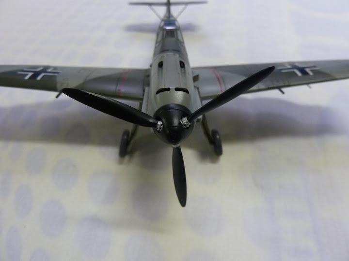 Bf-109 E-3 Tamiya 1/48 - Reforma pintura P1020668
