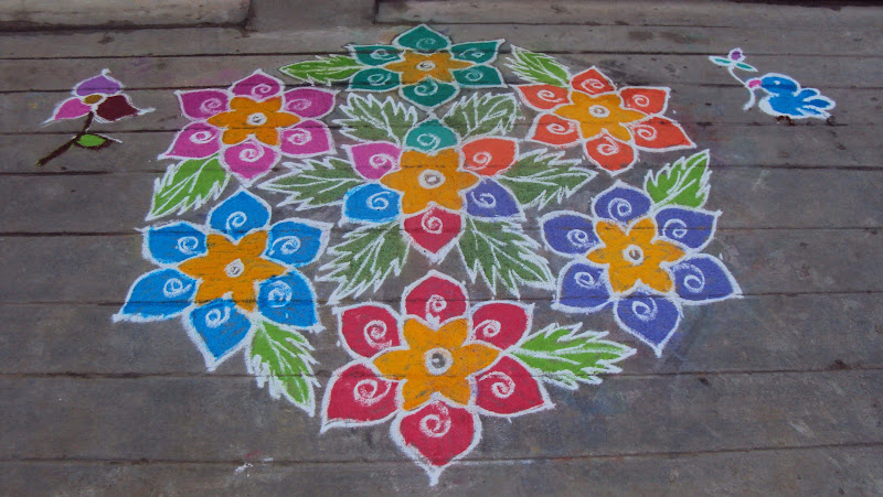Pongal: Rangoli Colors