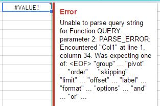 Combining IF statements and Query with ImportRange in google