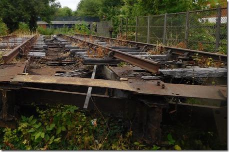 3 derelict rail swing bridge