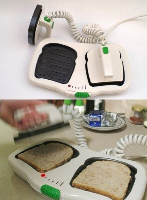 Defibrillator Bread Toaster