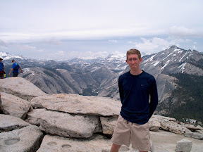 On the top of Half Dome
