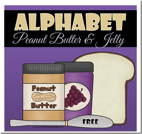 Alphabet Peanut Butter and Jelly