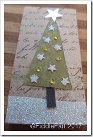 Domino Crafts Christmas Tree Pendant